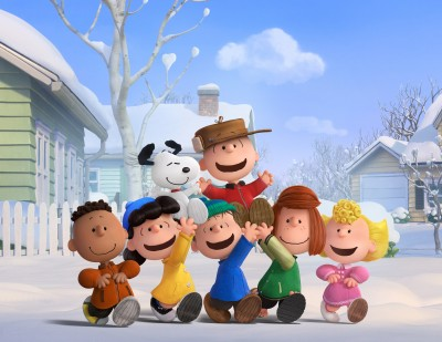 Snoopy and The Peanuts Gang in the new 2015 Peanuts Movie!