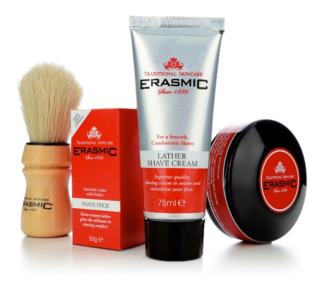 Erasmic shaving 4 side
