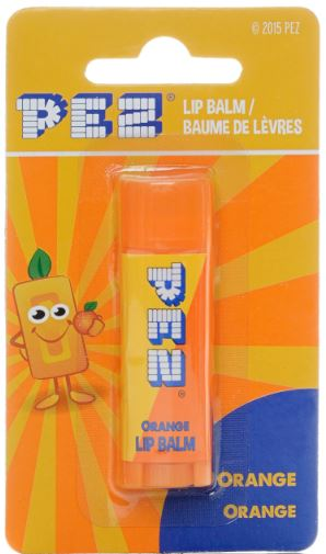 pez-orange lip balm