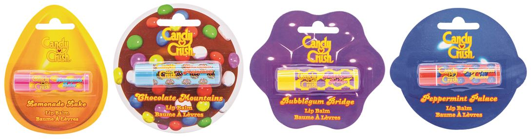 Candy Crush Lip Balms at Primark