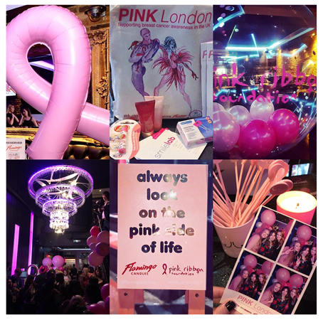 Smilelab and breastcancer awareness Pink Ribbon Foundation